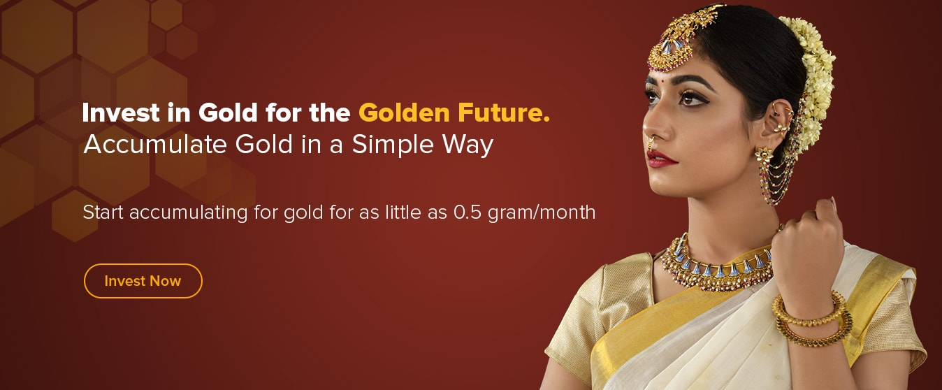 Start investing for gold through SIP